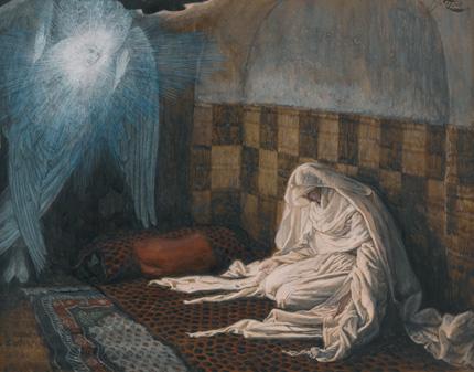James Tissot - Anunciación
