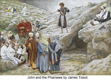 Imagen de James-Tissot-Juan-Bautista-y-los-fariseos